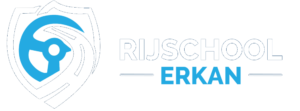 Rijschool Erkan Rijlessen Purmerend Zaandam Amsterdam Logo Wit